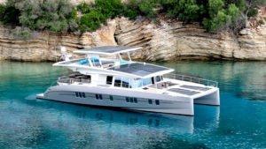 silaent solar yacht