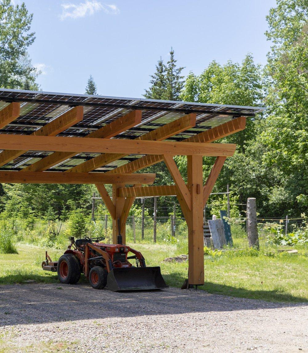 SunCommon Solar Canopy Installer