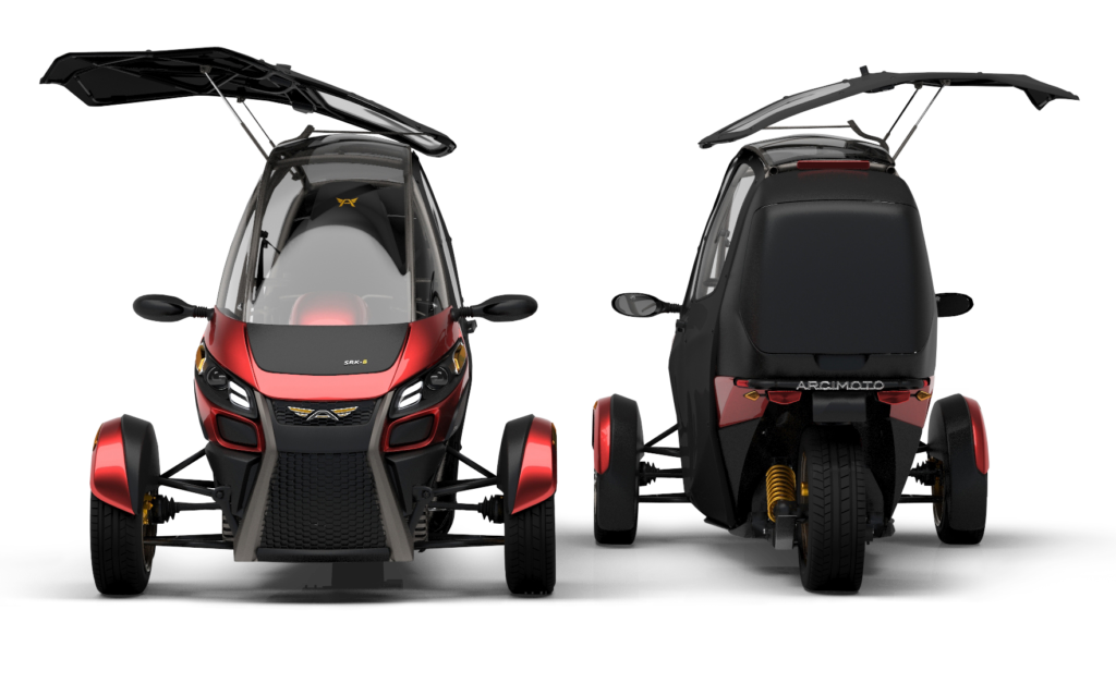 Arcimoto 3 wheeled Electric Vehicle