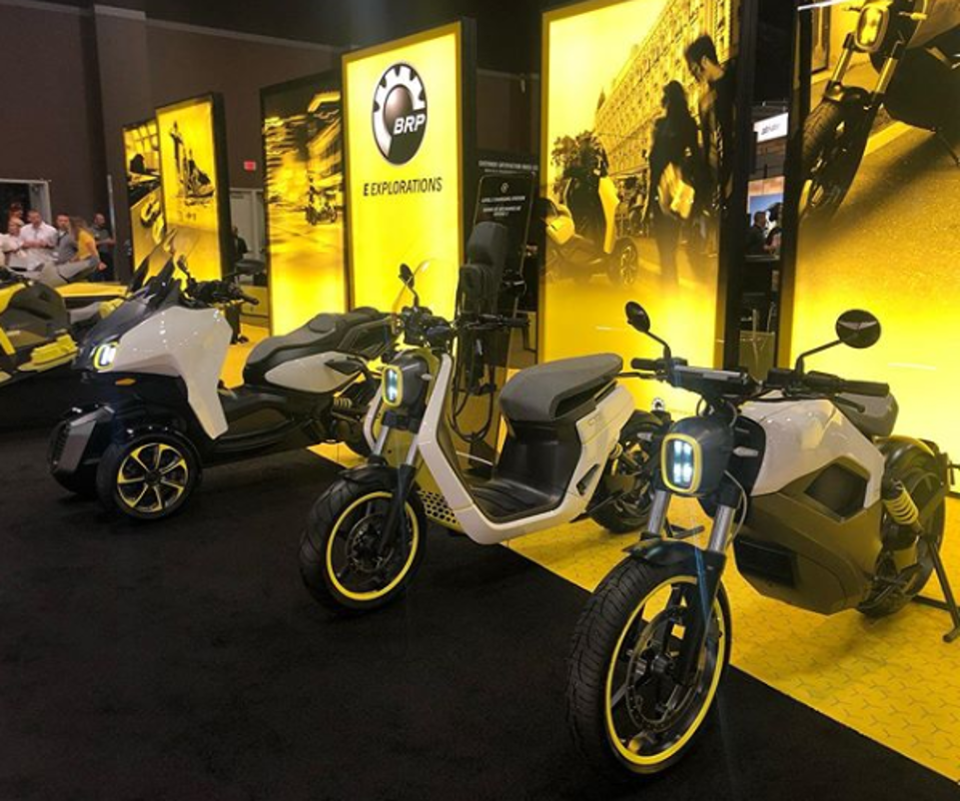 brp-electric bike selection