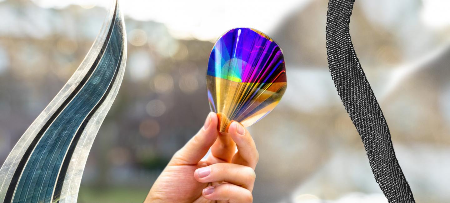 Flexible Organic Solar Cells, Electronic Paper and Piezoelectric Textiles