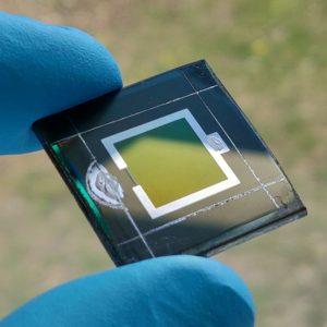 solar perovskite fabric