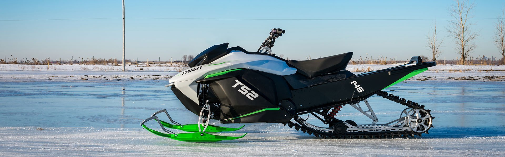 Electric Snowmobile with Impressive Specs just Launched By Taiga Motors