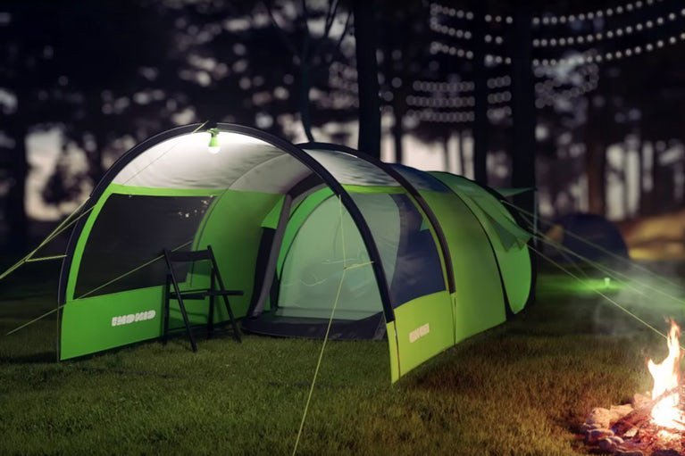 Cinch Solar Powered Smart Tent