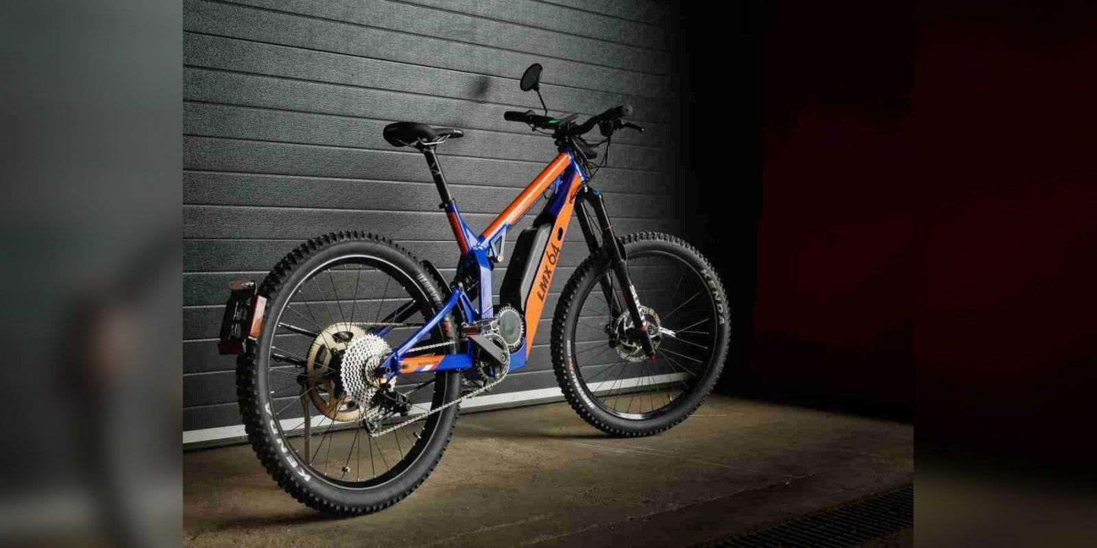 Electric Bike LMX 64H Is Street Legal