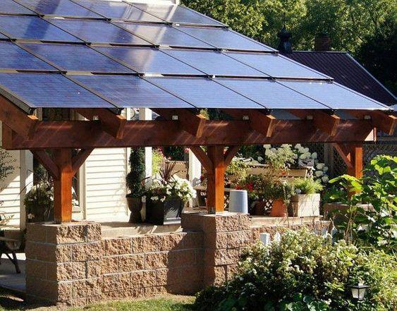 solar canopy cedar