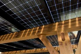 diy solar canopy cedar